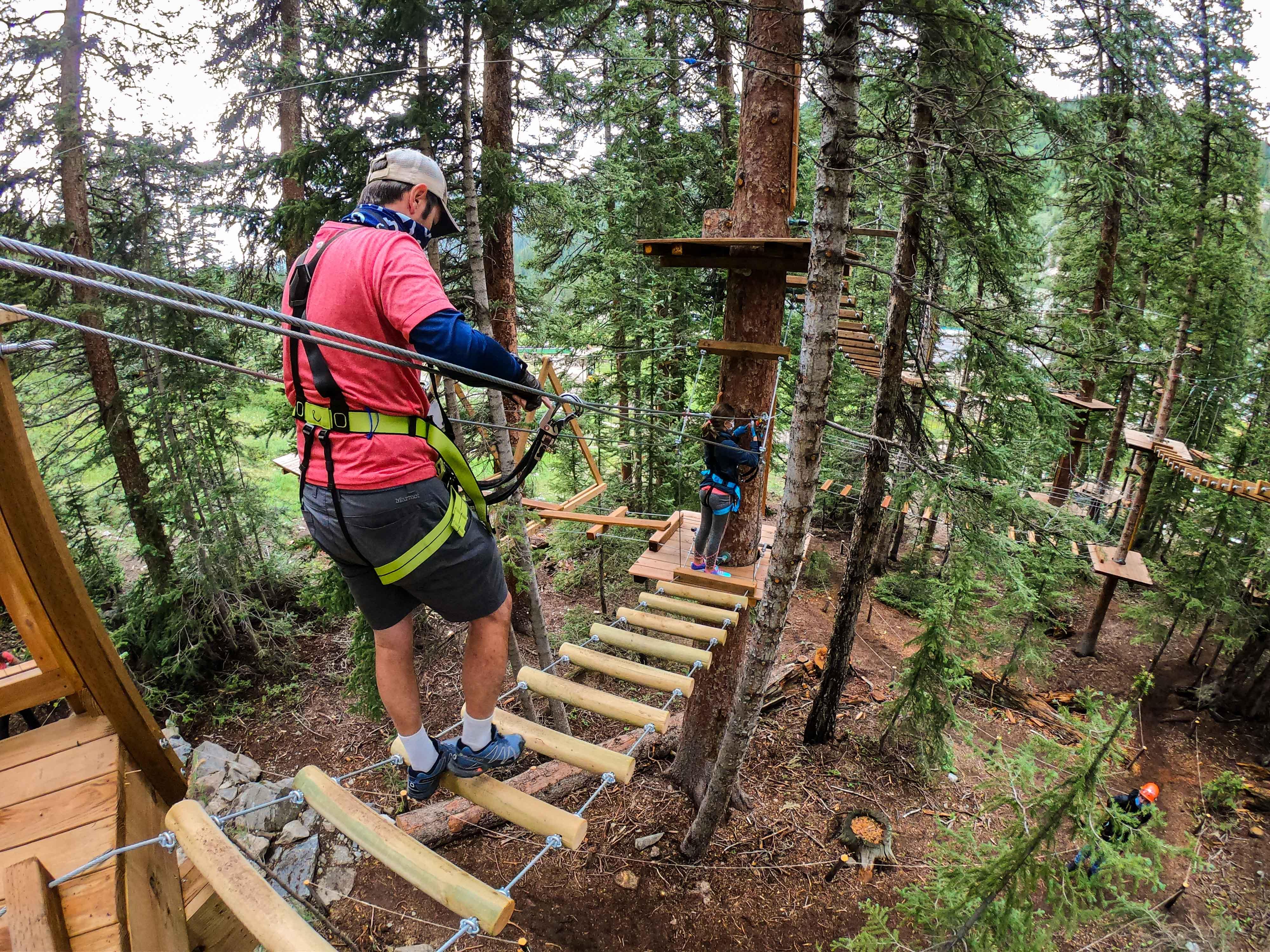 Summer Aerial Adventure Park Arapahoe Basin Ski Snowboard Area